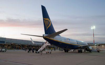 L'Aeroport de Reus augmenta un 6,4% els seus passatgers a l'agost