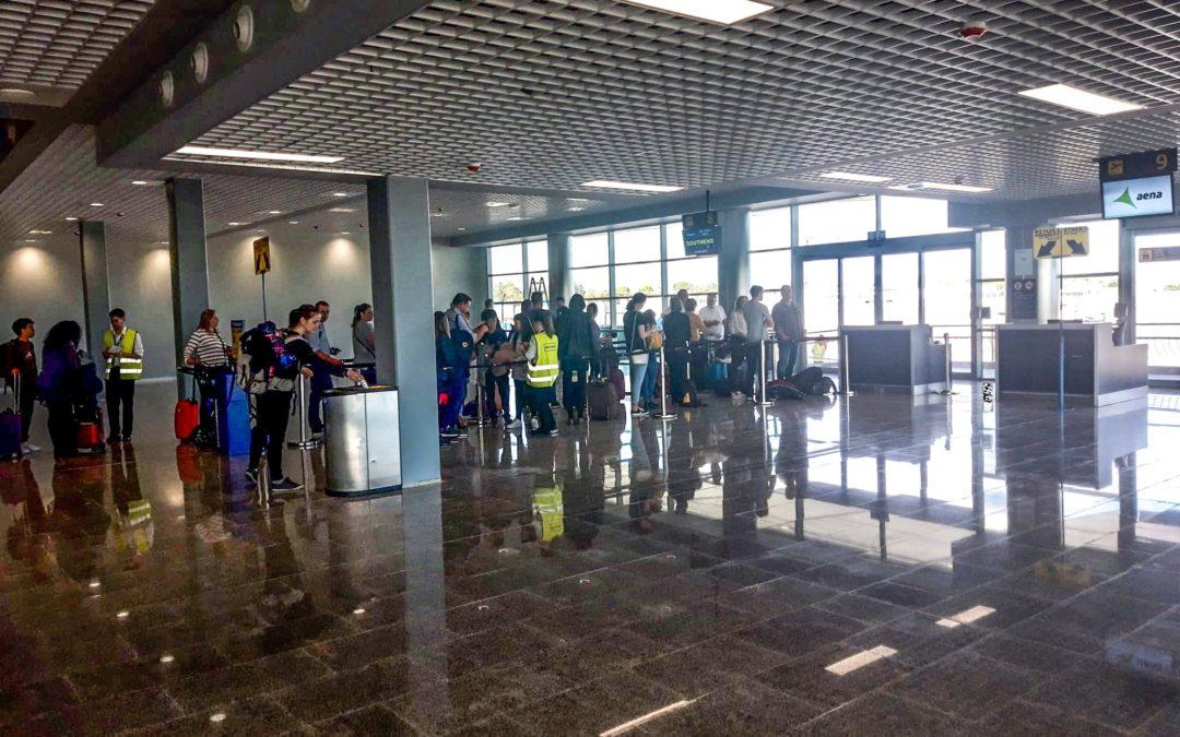 El Aeropuerto de Reus pone en servicio parte de la ampliación de la Terminal