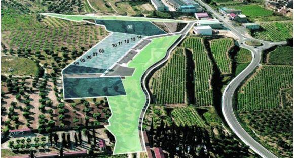 L'Institut Català del Sòl ven tres parcel·les a Batea