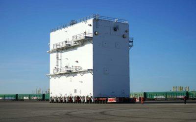 Linde construye en el Puerto plantas de producción de gases industriales