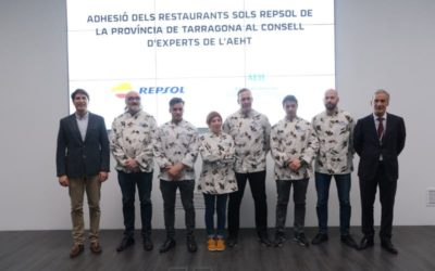 Els sis restaurants amb Sol Repsol de la província de Tarragona ja formen part del Consell d'Experts de l'AEHT