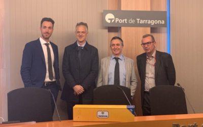 DP World Tarragona y la naviera Tarros llegan a un acuerdo para ampliar las conexiones directas y mejorar los enlaces en el Mediterráneo