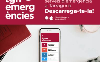 L'Ajuntament de Tarragona crea una app amb motiu de la crisi del coronavirus, la TGN emergències
