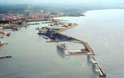 El Puerto de Tarragona ralentiza las obras en marcha por el coronavirus