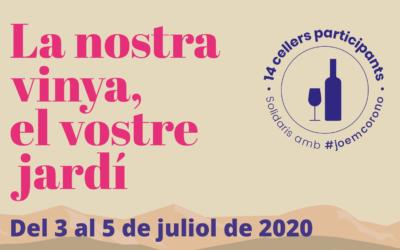 La DO Tarragona inaugura la temporada enoturística el primer cap de setmana de juliol amb la proposta 'La nostra vinya, el vostre jardí'