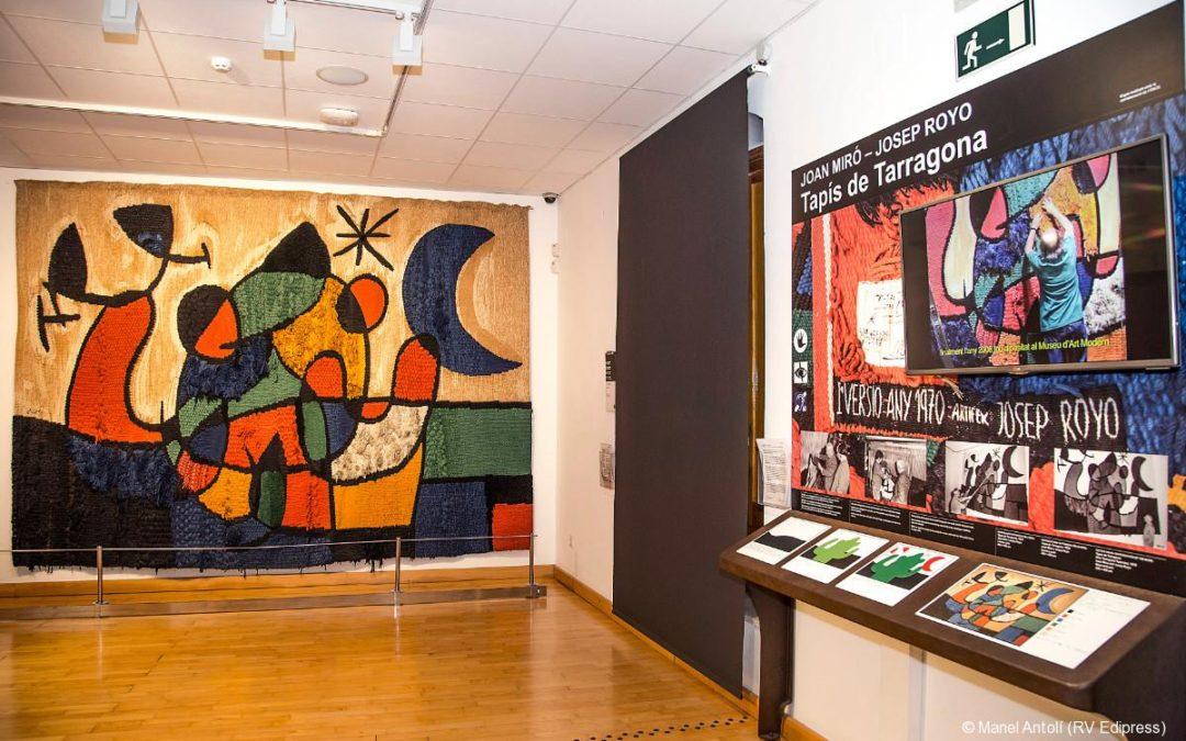 Reobertura del Museu d'Art Modern de la Diputació de Tarragona, amb les exposicions 'Resistències vora el mar', de Ro Caminal, i 'De mites i herois', de Marc Quintana