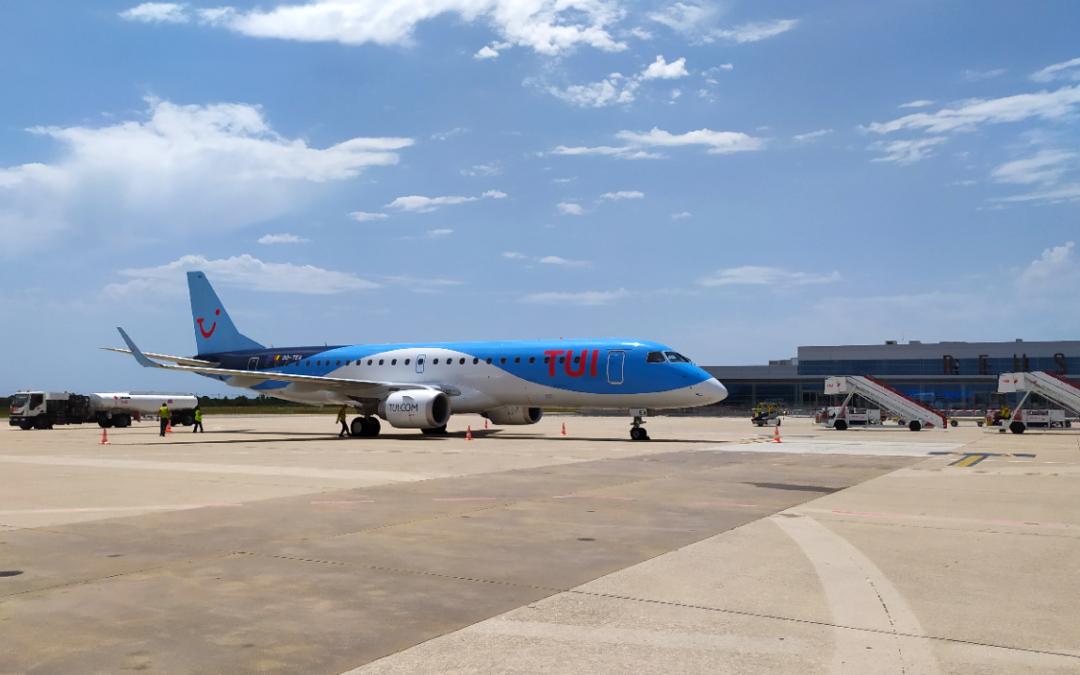 El Aeropuerto de Reus recupera la conexión de TUIFly Belgium con Bruselas