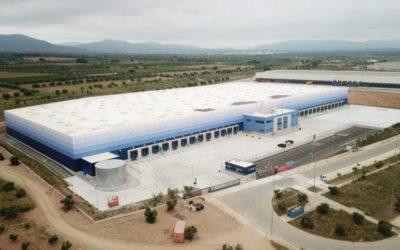 Gazeley finaliza la construcción de su almacén logístico en Valls