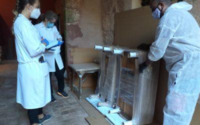 S'inicien les obres de restauració del Castell Monestir d'Escornalbou