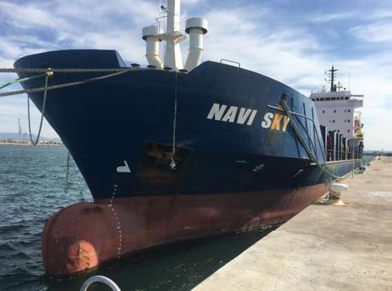 La castellonense Ocmis Maritime se adjudica el  'Navi Sky' por  710.000€