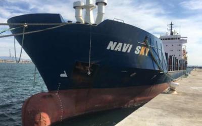 El Puerto saca a subasta el buque 'Navi Sky'