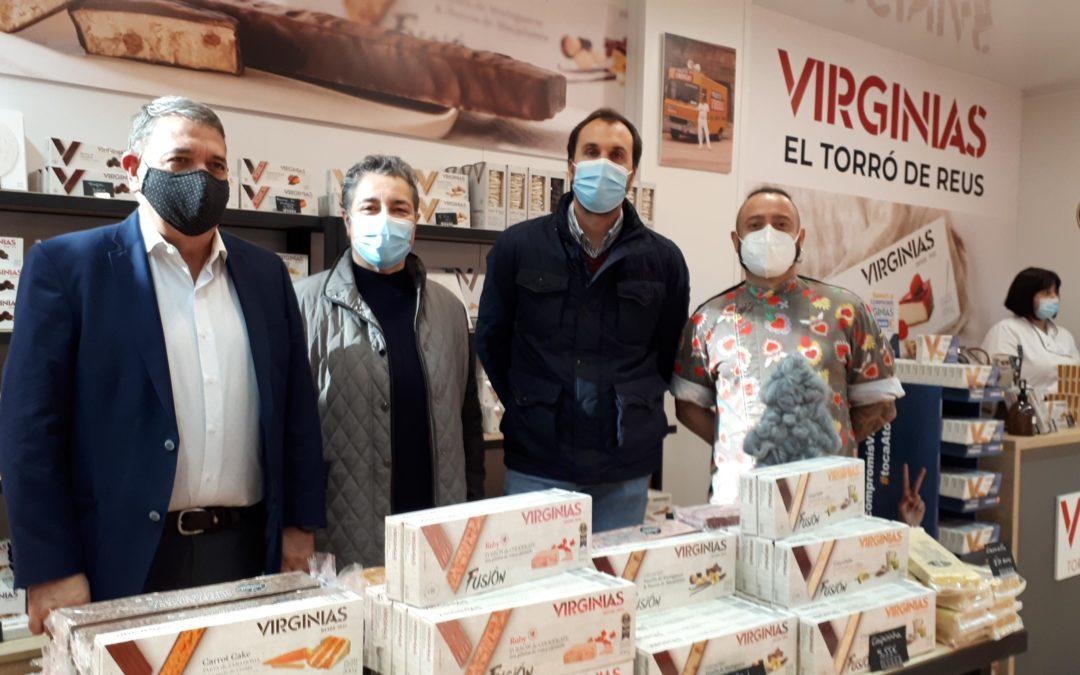 Virginias obre una parada al Mercat Central de Reus coincidint amb la campanya de Nadal