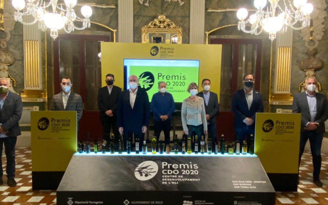 Guardonats els millors olis d'oliva verge extra de les DOP Baix Ebre-Montsià, Siurana i Terra Alta