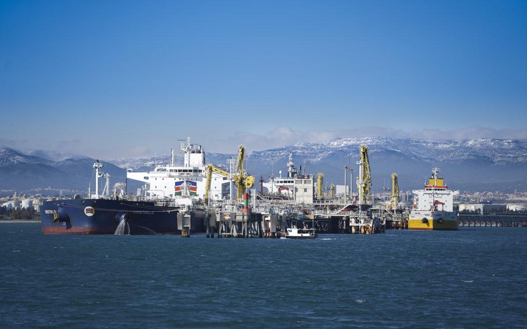 El Port de Tarragona cierra 2020 con 26,7 millones de toneladas, un 20% menos