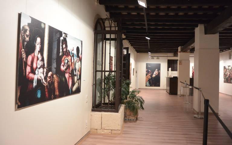 La Torre Vella de Salou acull una exposició nadalenca amb facsímils d'obres del Museo del Prado sobre l'adoració al nen Jesús