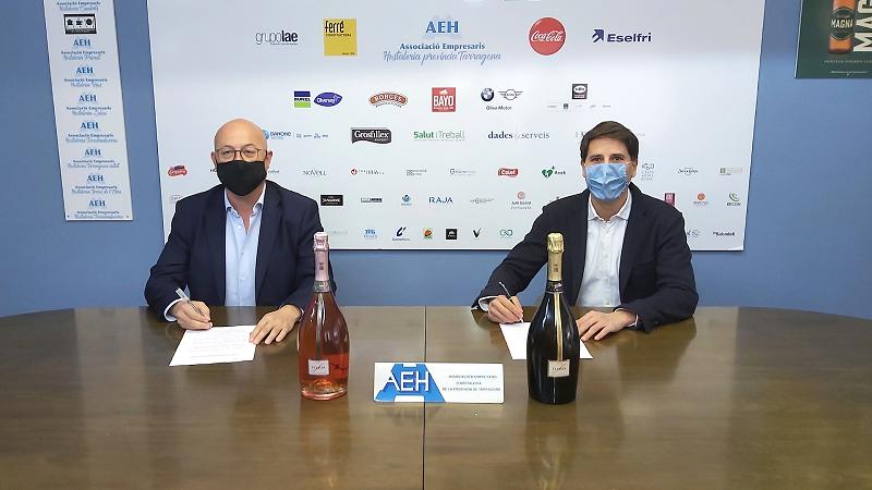 L'AEHT i Freixenet signen un conveni de col·laboració per recolzar l'hostaleria