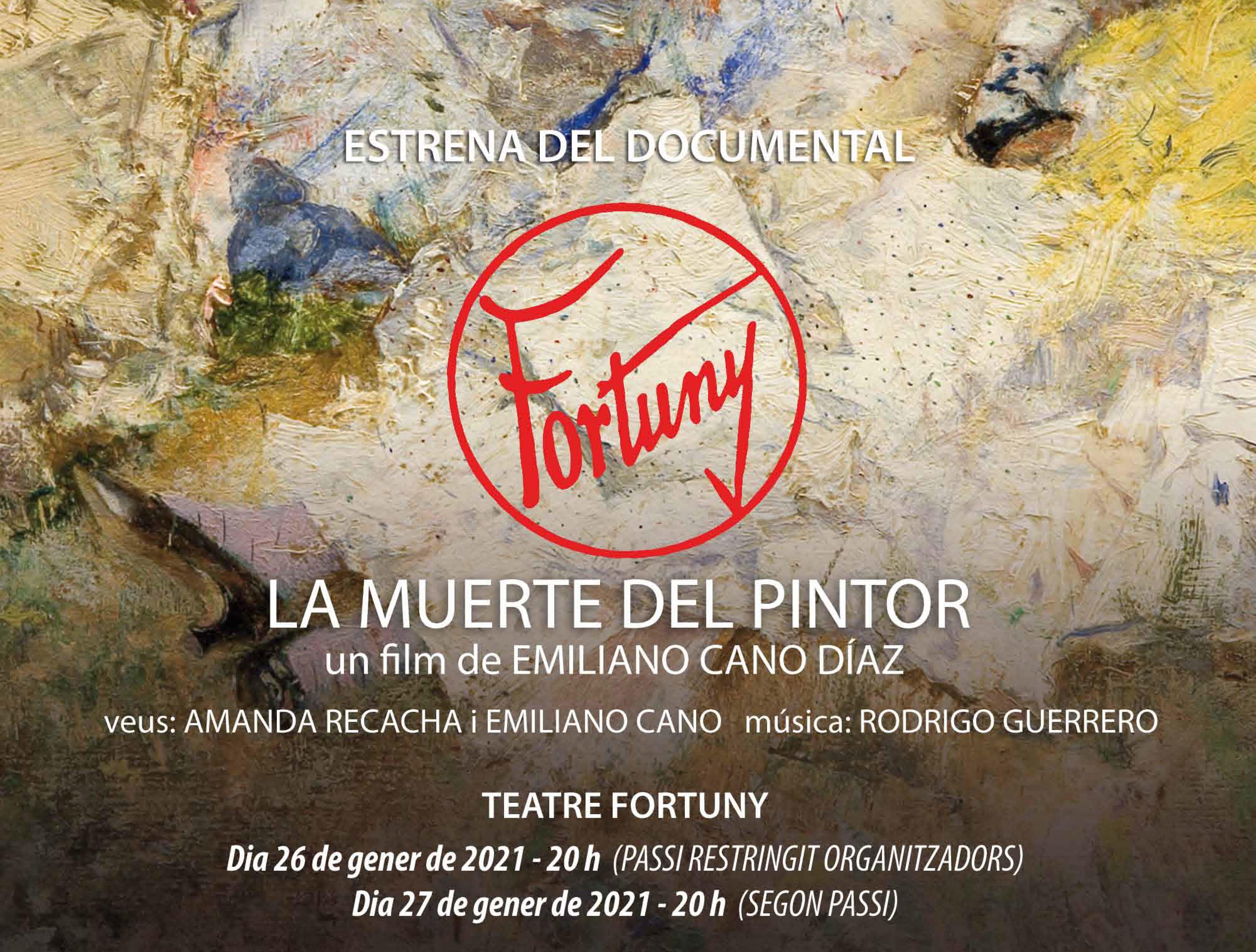 Estrena a Reus d'una pel·lícula documental dedicada al pintor Marià Fortuny