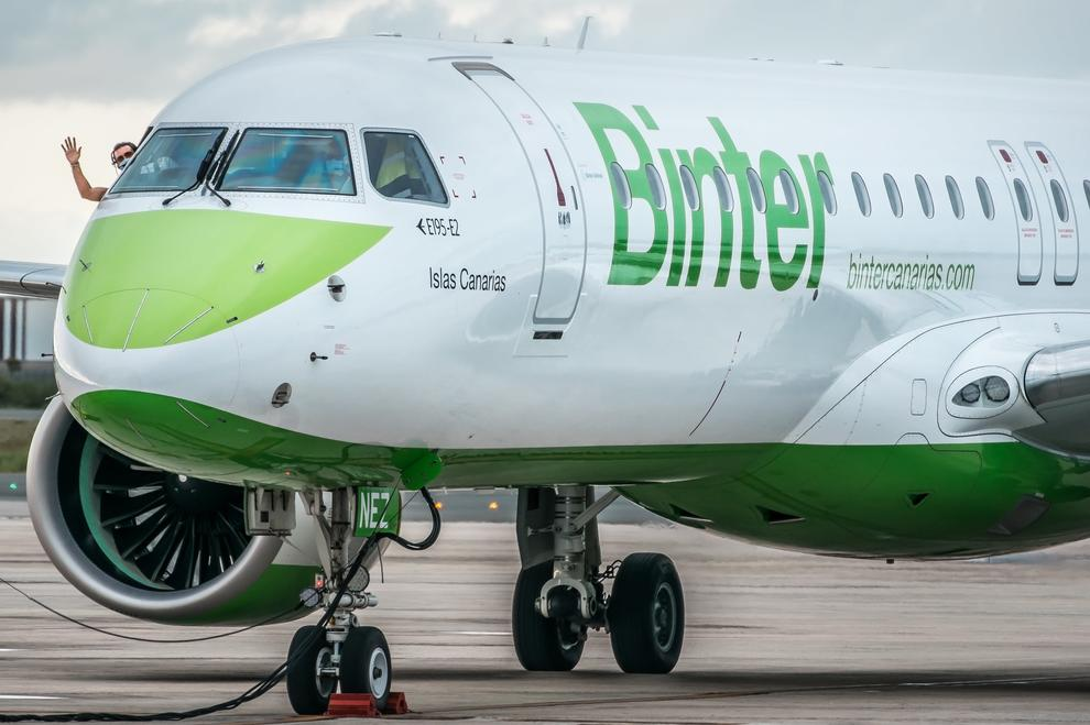 Binter espera mover 20.000 pasajeros en la nueva ruta entre Reus y Canarias