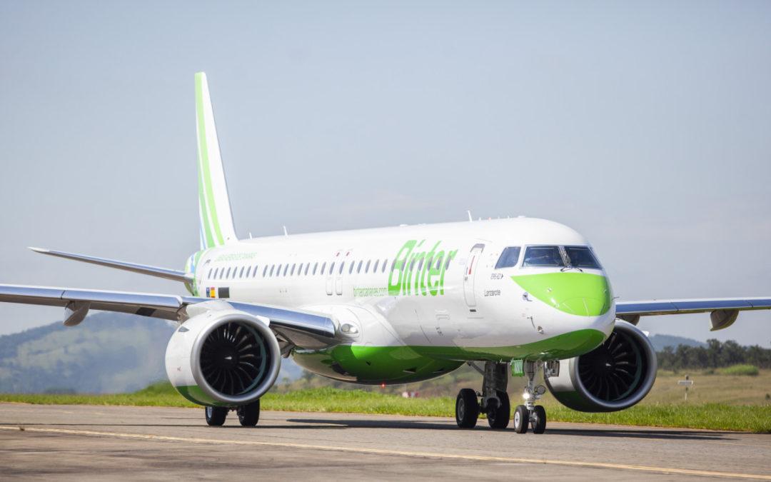 Binter abrirá en julio una ruta regular entre Reus y las islas Canarias