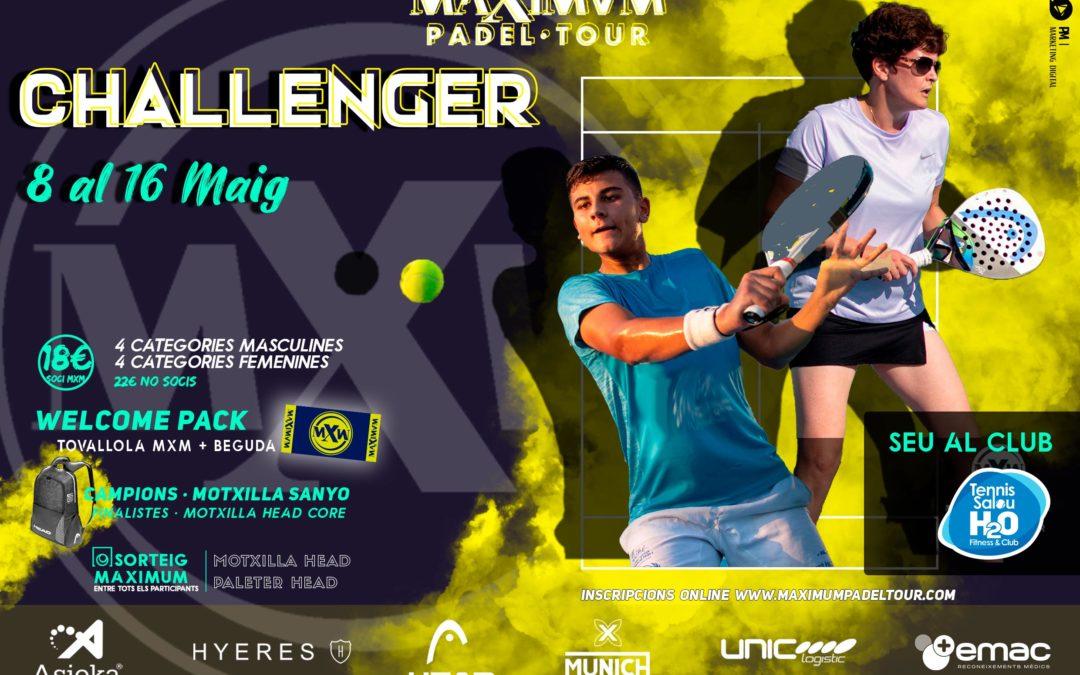 El circuit Maximum Pàdel Tour arrenca al Tennis Salou H2O amb 300 participants inscrits