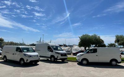 El gigante automovilístico Maxus distribuirá sus vehículos a través del Port