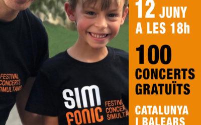 Altafulla s'incorpora al SIMFONIC, el festival de concerts simultanis i gratuïts realitzats per més de 5.000 estudiants d'escoles de música a 100 racons de Catalunya i Balears