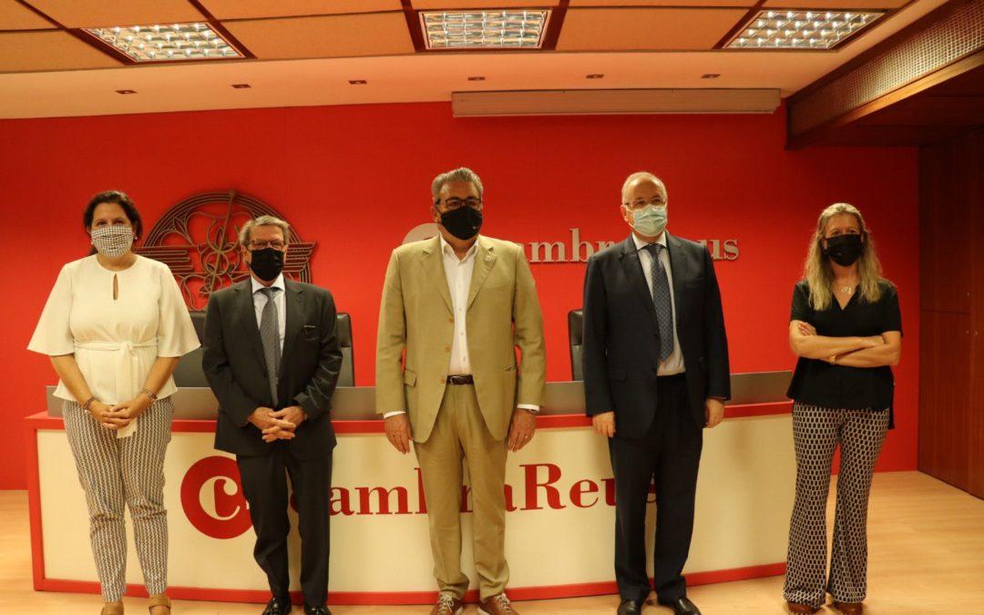 El Consolat de Mar, la Cambra de Reus i els Col·legid'Advocats de Reus i Tortosa apropen la mediacióempresarial al teixit econòmic