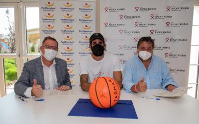 La Fundación PortAventura y la Fundación Ricky Rubio firman un acuerdo de colaboración en Dreams