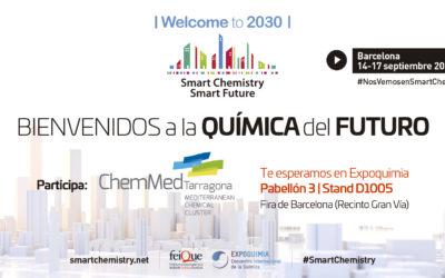 El clúster químic de Tarragona dona a conèixer els seus plans de futur en una nova edició d'Expoquimia