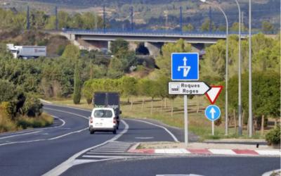 El polígon industrial Roques Roges d'Alcover, més a prop de la seva ampliació