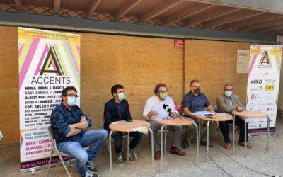 La 8a edició del Festival Accents arriba amb 24 actuacions a Reus i concerts a 6 subseus del Baix Camp i el Tarragonès