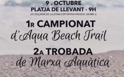 Salou serà la seu del I Campionat d'Aqua Beach Trail de Catalunya, el dissabte 9 d'octubre
