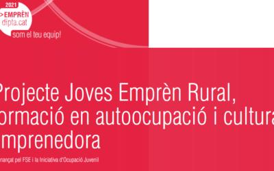 Neix Joves Emprèn Rural, un nou projecte per afavorir el repoblament als petits municipis