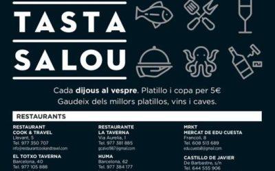 'Tasta Salou' torna amb la participació de 14 establiments del municipi, el proper 30 de setembre