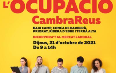 Més de 600 inscrits a la IV Fira de l'Ocupació Juvenil de la Cambra de Comerç de Reus