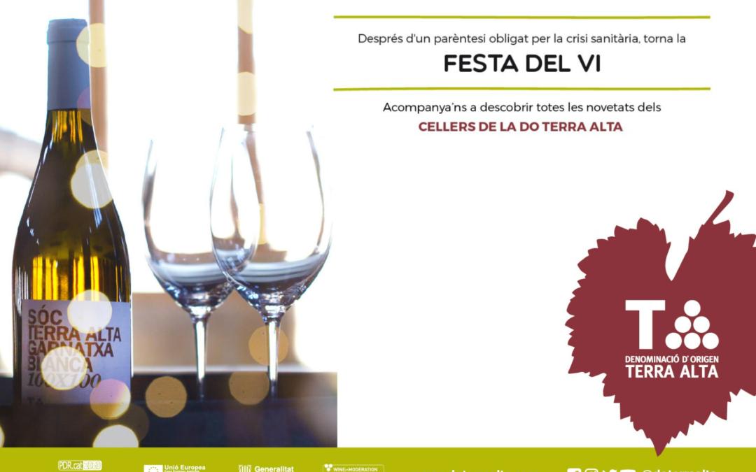 Tornen els actes presencials de la DO Terra Alta en el marc de la Festa del Vi